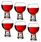 Durobor Alternato Bubble 19oz 14oz or 11oz Stem Wine Glasses, Sets of 2 ,4 or 6,