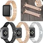 Rhinestone Diamond Stainless Steel Band Strap for Apple Watch Series 1/2/3/4 image