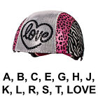 Raskullz Glam Gear Kids Bike Helmet Sequins Zebra Pink Leopard Print, One Size