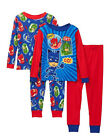 PJ Masks Toddler Boys 4-Piece Cotton Pajama Set Size 2T 3T 4T
