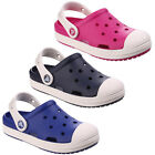 Crocs Bump It Clogs Childrens Croslite Lightweight Kids Boys Girls Shoes Sandals
