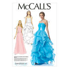 McCall's 7124 Sewing Pattern to MAKE Long Dress suit Bridal, Evening or Prom