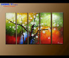 Large Framed Abstract Flower Oil Painting Art Wall Modern Decor on Canvas FY3684