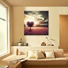 Waterproof Ink Landscape Series Canvas Painting Sitting Room Decoration Pictures
