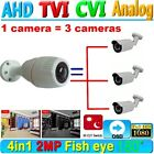 180 Degree Fisheye Cam HD 1080P AHD CCTV Camera Security IR night vision 2.0MP