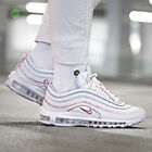 Nike Air Max 97 SE Sneakers White Rose Size 6 7 8 9 Womens Shoes New Running