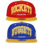 Mitchell & Ness Snapbacks Houston Rockets and Denver Nuggets Triplear NBA Caps on eBay