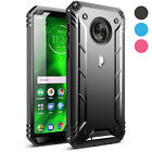 Moto G6 Rugged Case ,Poetic® [Dual Layer] Shockproof Hard Shell Case Cover
