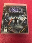 Star Wars The Force Unleashed (Sony PS3 Playsation 3)
