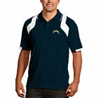 Los Angeles Chargers Antigua Fusion Polo - Navy Blue/White $55.99 USD on eBay