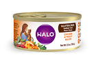 Halo Gluten Free Indoor Cat Chicken & Trout Recipe Canned Ca