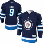 Evander Kane Winnipeg Jets Reebok Youth Replica Player Hockey Jersey Navy Blue