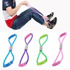 P/ Fitness Yoga Latex Gym Gummiband Resistance Widerstand Schlauch Band Training