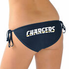 Los Angeles Chargers G-III 4Her by Carl Banks Women's Trick Play String Bikini $19.99 USD on eBay