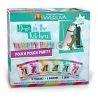 Weruva Dogs in the Kitchen Grain Free Pooch Pouch Party! Variety Pack Wet Dog Fo