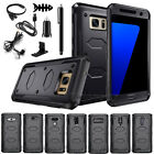 Armor Shockproof Hybrid Protective Rugged Rubber Hard Case Cover For Cell Phones
