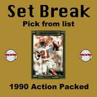 (HCW) 1990 Action Packed Football Cards Mint Set Break 151-280 - You Pick $0.99 CAD on eBay