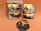 Air Conflicts Vietnam Playsation 3 PS3 Game Case & Manual Tested Complete!