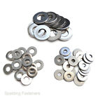 "Imperial A2 Stainless Small & Large Size Flat Washers No2 - 1/2"" Sizes"