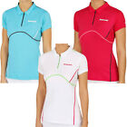 Внешний вид - Babolat Womens Tennis Match Performance Short Sleeve Polo Shirt Top