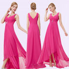 Ever-Pretty Bridesmaid Dress Hot Pink Long Evening Party Pro