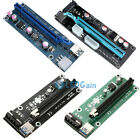 【Lot】USB 3.0 PCI-E Express 1x to 16x Extender Riser Card Cable For Bitcoi US!