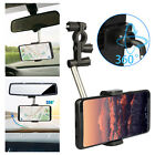 Universal Adjustable Motorcycle Scooter Mount Holder Stand For Cell Phone GPS US