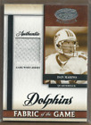 2008 Leaf Certified Materials Fabric of the Game Football Card Pick