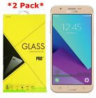 2Pack Tempered Glass Screen Protector For Samsung Galaxy J7 V/Sky Pro/Prime 2017