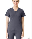 Medical Scrub Set Maevn EcoFlex Pants 9314/1314 Top Pewter Large