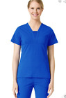 Medical Scrub SET Maevn Ecoflex Pants 9314/Top1314 Royal Blue Large New Reg 48