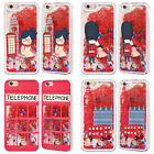 HEAD CASE DESIGNS DREAM LONDON RED GLITTER CASE FOR APPLE iPHONE SAMSUNG PHONES