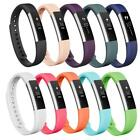 S/L Classic Colorful Silicone 10 Pack Replacement Bands for Fitbit Alta/Alta HR