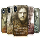 OFFICIAL HBO GAME OF THRONES CHARACTER BLACK GEL CASE FOR APPLE iPHONE PHONES