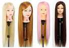 "Mutil Colorful 26"" Hair Hairdressing Practice Training Head Mannequin + Clamp"