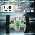2.4GHz RC Remote Control Jumping Bounce Car + Flexible Wheel Rotation LED Light
