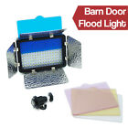 Bright 216 LED 14W Photo Studio Barndoor Flood Light Panel with Gel Filters