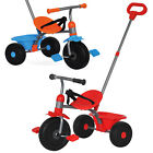 Kids 3 Wheeler Pedal Bike Tricycle Trike Childrens Buggy Parental Handle Control