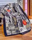Nevermore Halloween Throw or Pillow Polyester with Polyfill Quilted Accent New