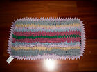 Rugs Amish Rugs Rag Rugs 35 Inch x 19 Inch Multi Color Amish Made