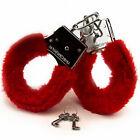 Furry Fuzzy Handcuffs Up Sex Slave Hand Ring Ankle Cuffs Restraint Bed Toys GIFT