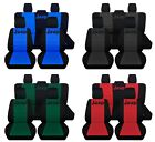 Car SUV Seat Covers 2014-2019 Jeep Cherokee Front and 60/40 Rear Paw Prints ABF