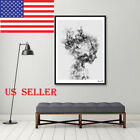 Modern Nordic Decor Black White Poster Canvas Painting Wall Art Pictures US