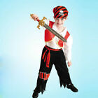 Cute Boys Halloween Little Pirate Fancy Dress Book Week Costume Suit