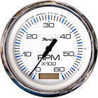Faria+33832+Chesapeake+White+0%2D6000+RPM+Tachometer+with+Hourmeter+4%22+Gas+TC9128