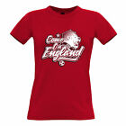 Football Womens Tee Come On England 2018 Soccer Russia Distressed Goal 1966