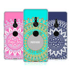 CUSTOM CUSTOMISED PERSONALISED MANDALA SOFT GEL CASE FOR SONY PHONES 1
