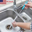 Home Bathroom Sink Hook Drain Sewer Dredge Device Kitchen Chain Cleaning Tools