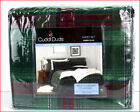 Cuddl Duds Heavy Weight 100% Cotton FLANNEL Sheet Set - Green Plaid 🌟NEW🌟 image