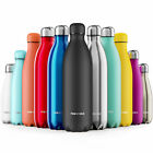 Proworks Stainless Steel Water Bottle - Insulated Metal Sport & Gym Drinks Flask